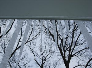 Gutter guards and Ice Dams